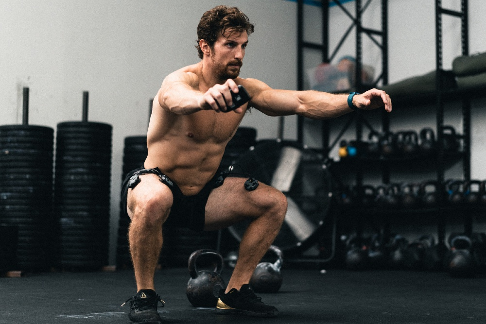 Stefano Migliorini boosting performance with Compex SP 8.0 WOD Edition