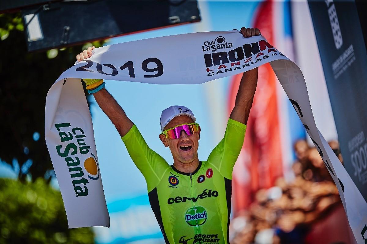 El #CompexAthlete Frederik Van Lierde gana el IRONMAN Lanzarote