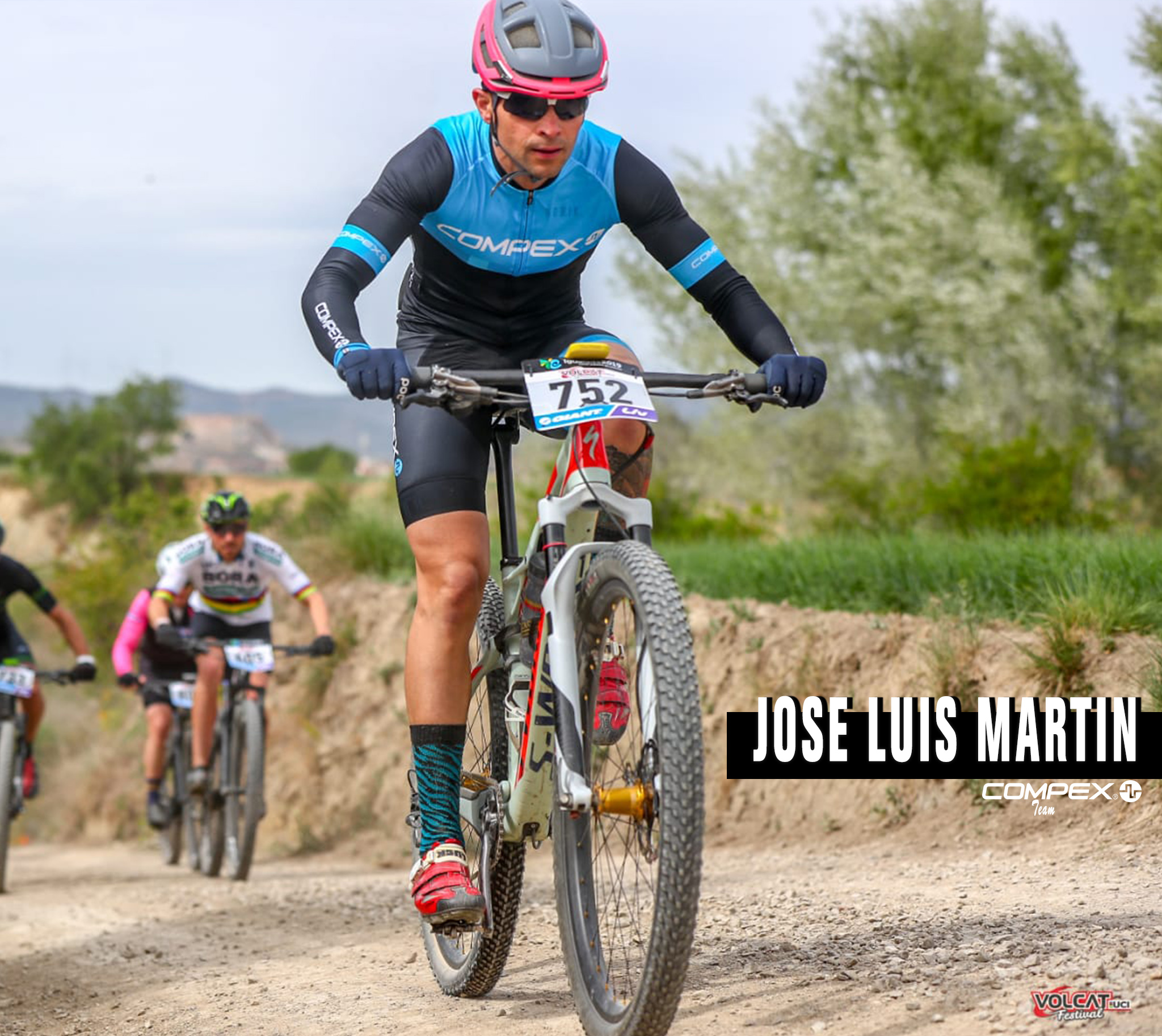 Jose Luis Martin Compex Team #AsBR2019