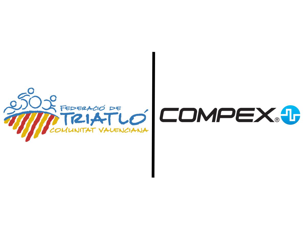 Compex, nuevo partner de la Federación Valenciana de Triatlón