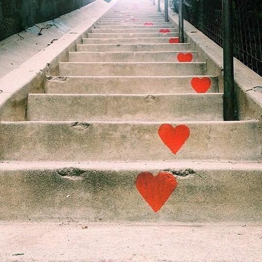 Escaleras Corazones wellneX