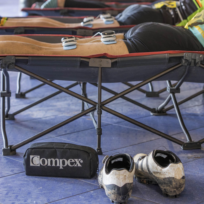 Compex ofrecerá el servicio de recuperación en la Costa Blanca Bike Race 2020