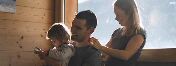 Creando hábitos saludables en familia. De tal palo, tal astilla.