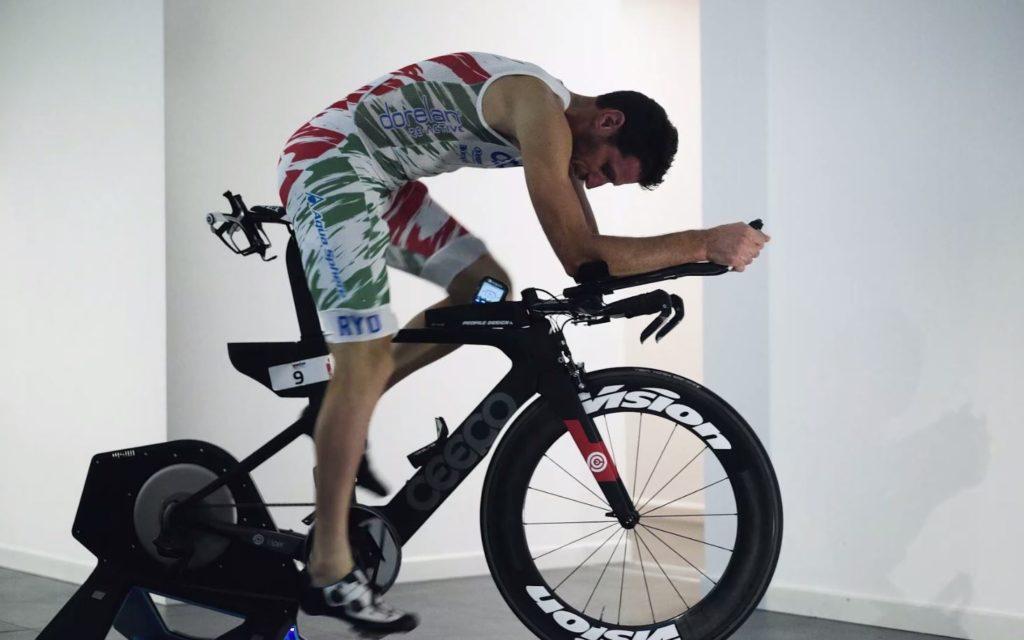allenamento del triatleta: rulli