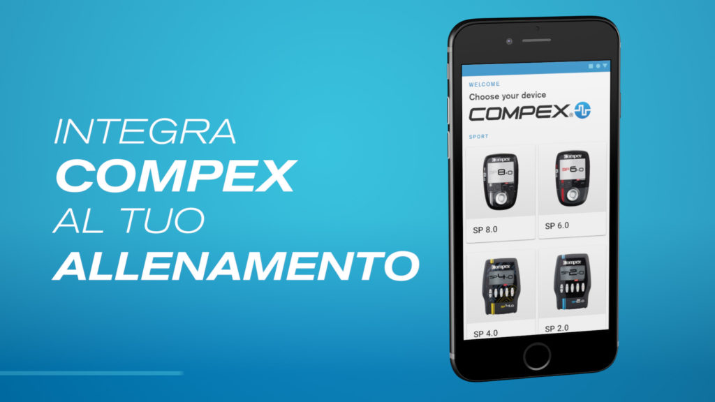 Compex Coach è gratutita per Android e iOS
