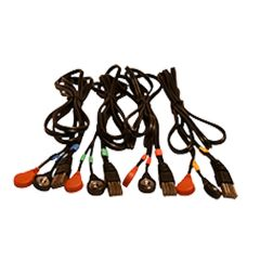 COMPEX SET OF 4 CABLES 8P SNAP