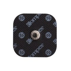 "Compex Easy Snap Electrodes - 2"" x 2"" - Black"