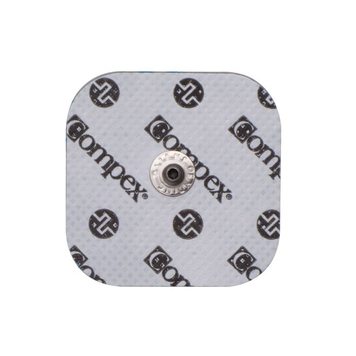 latest fashion hot product fresh styles Compex Easy Snap Electrodes 2in X 2in - 1 Pack (4 Electrodes) - White
