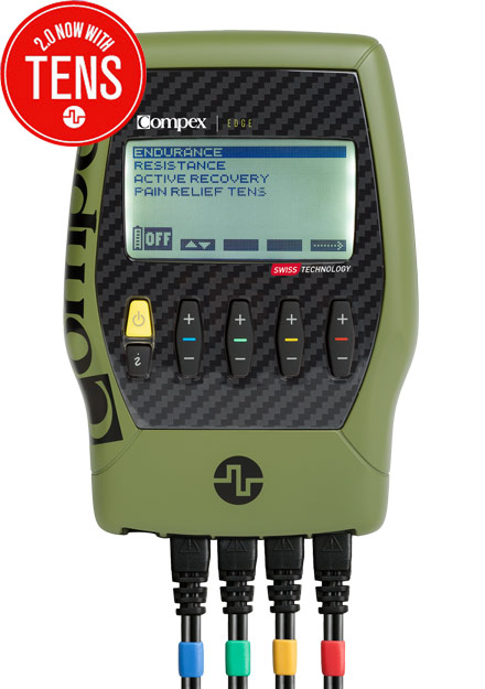 Compex Edge Recon Green Muscle Stimulator
