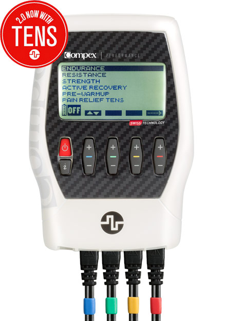 Compex Performance Tactical White Muscle Stimulator