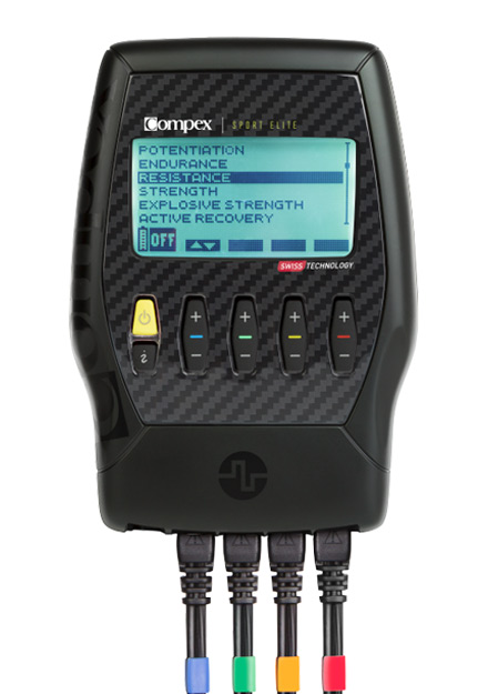 CCompex Sport Elite Seal Black Muscle Stimulator