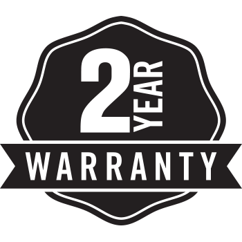 2-year Warranty (Register device to upgrade to 3 years)