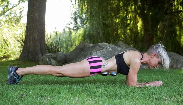 Planchas con Compex Muscle Stim