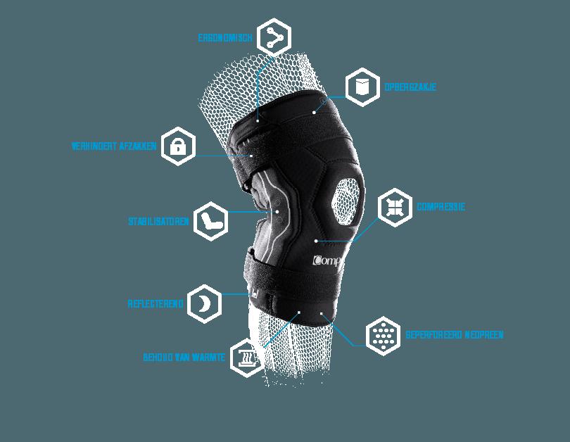 Compex Bionic Knie Brace