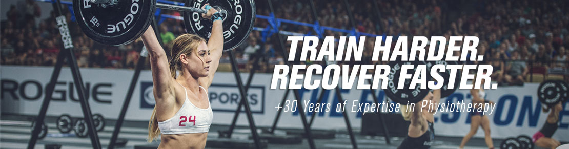 Train Harder. Recover Faster.