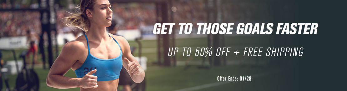 Get to those goals faster - Up to 50% Off + Free Shipping