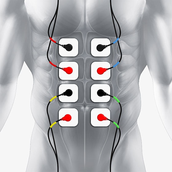 ab electrode placement