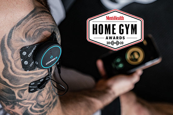 compex mens health gym award logo
