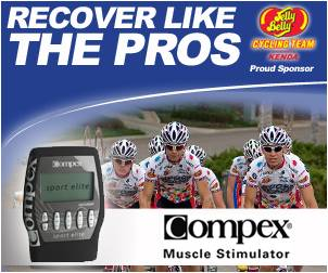 Compex Sponsors Jelly Belly Racing