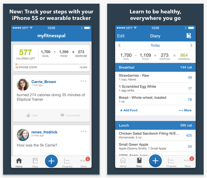 MyFitnessPal Calorie Tracker