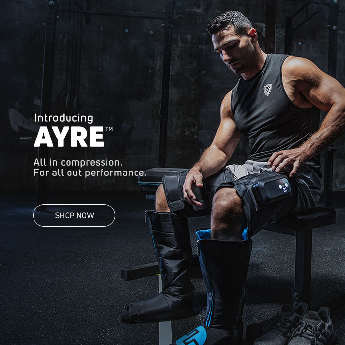 Introducing Compex ® AYRE™ Wireless Compression Boots